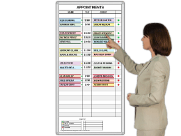 Appointment Guest Schedule