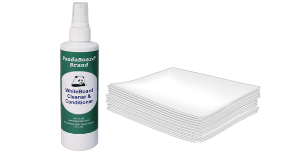 PandaBoard White Board Cleaner and Wipes
