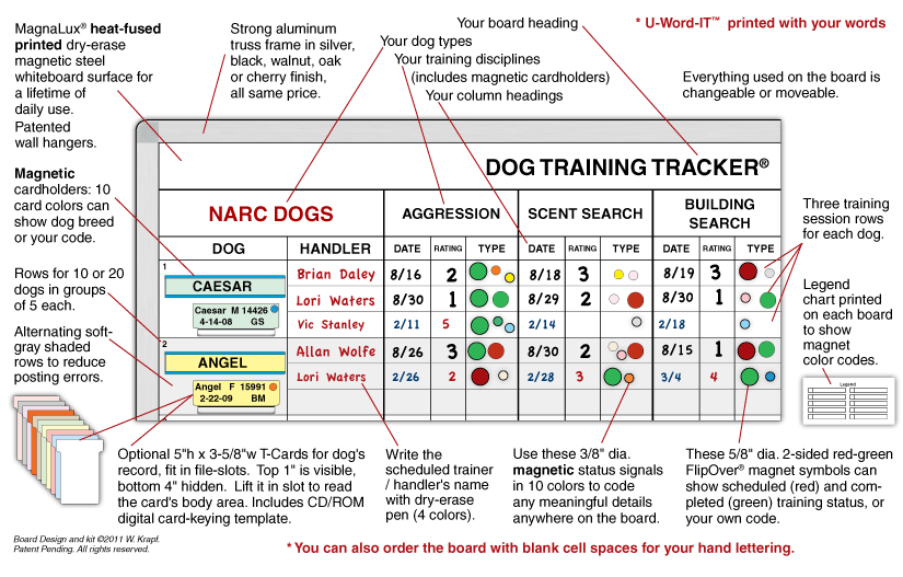 Dog Training Diagram