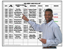 Delivery and Pickup™ Schedule