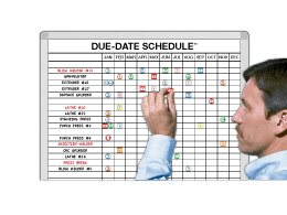 Due-Date™ 365-day Suspense Calendar