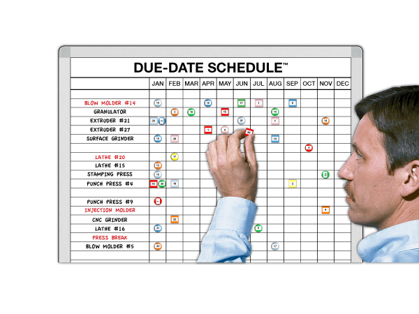Due-Date™ Suspense Calendars