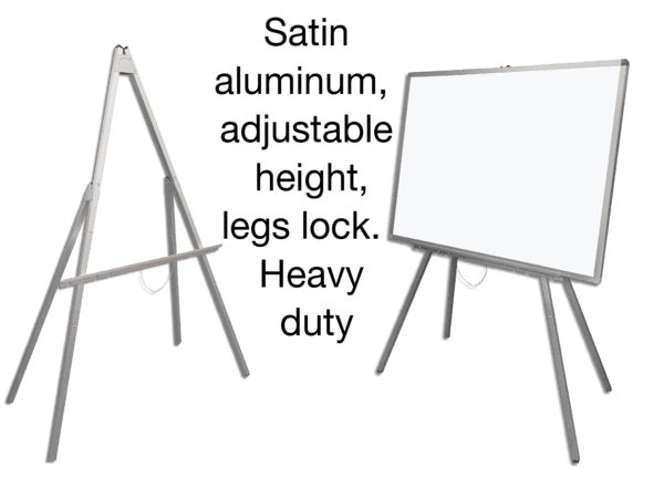 Folding 4-Leg Whiteboard Safety Easel