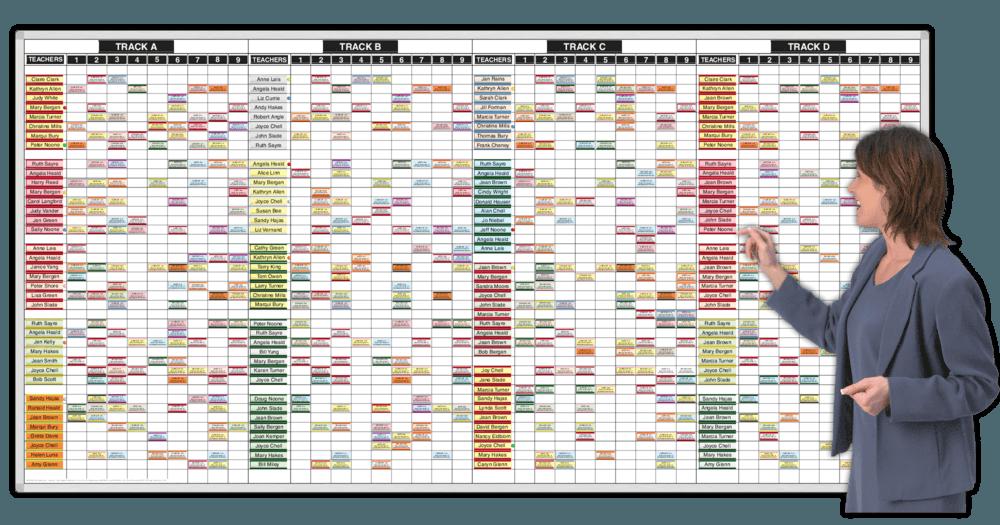 Yearround Teacher Track Schedules