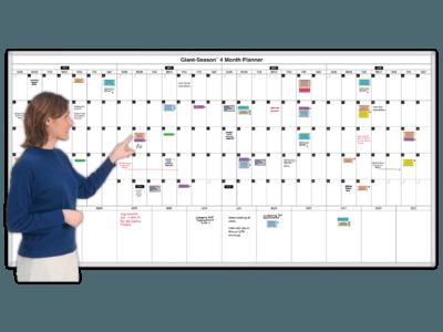 giant season 4 month magnetic planning calendar