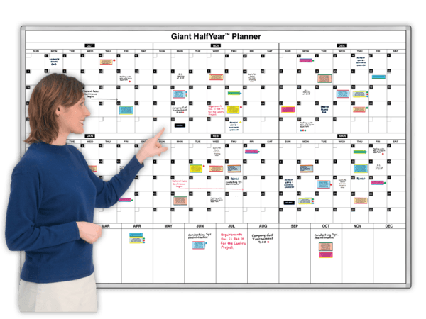 Giant HalfYear™ Magnetic Planning Calendar