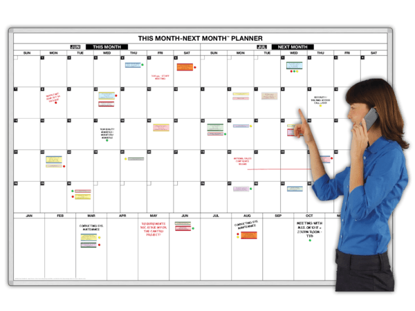 Giant Two-Month™ Magnetic Daily Planning Calendar