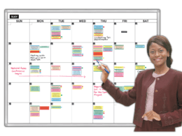 Giant Month Magnetic Calendar