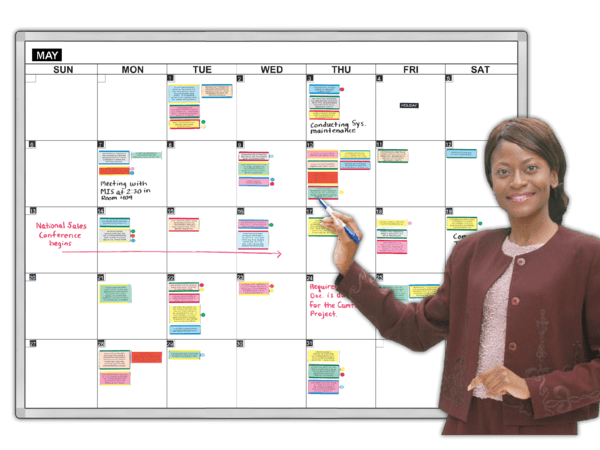 GiantMonth® 31 day Magnetic Planning Calendar