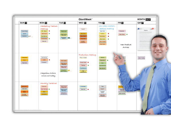 GiantWeek® Action Magnetic Calendars