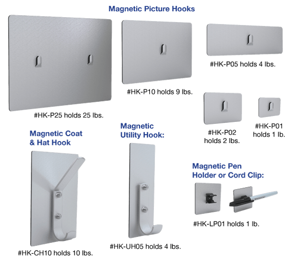 magnetic hooks picture coat utility