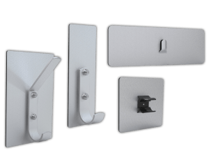 Magnetic Picture, Coat and Utility Hooks