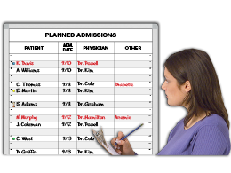 Planned Admissions