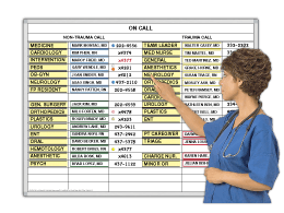 Hospital On-Call Boards