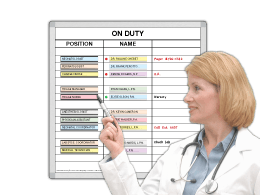 On-Duty™ Quick Change Boards
