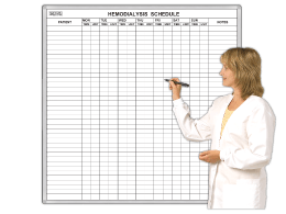 Hemodialysis Patient Schedule