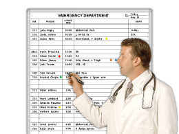 E.R. Patient Listing & Disposition