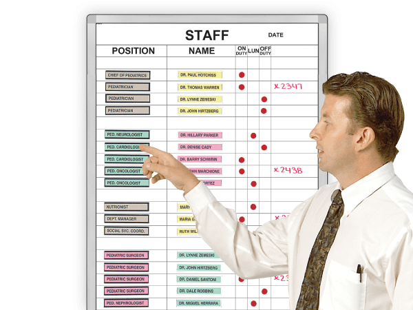 Staff Duty Status™ Boards