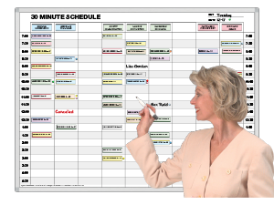 TimeSlot-Planner™ 15 & 30 Minute Patient Schedules