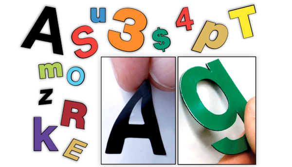 why buy a entire magnetic or adhesive number or letter set when you can order exactly what you want simply type the numbers words or phrases you would