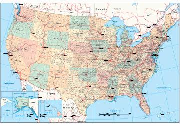 Magnetic Dry Erase United States Usa Whiteboard Map