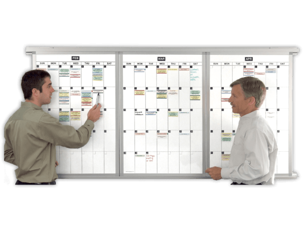 Month to Month™ Modular Magnetic Whiteboard Calendar