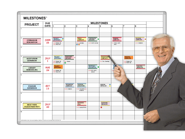 Milestones™ Project Plan & Progress Tracker®