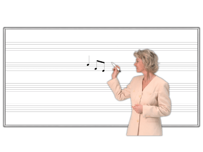 Music Staff WhiteBoards