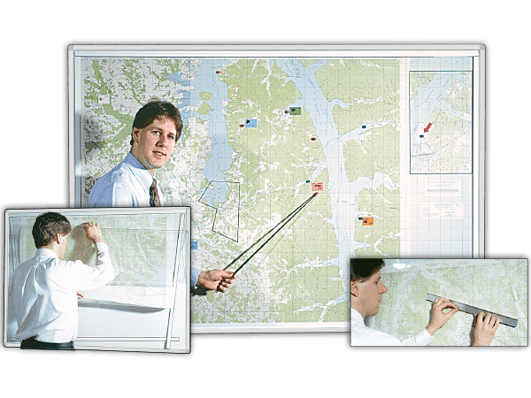 MapMount™ Magnetic Map Laminating Kits
