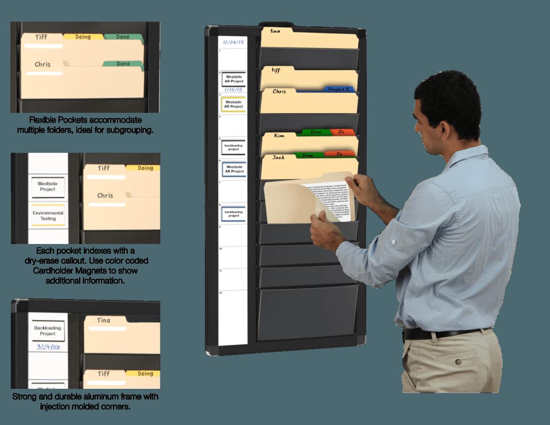 Fileview File Folder Wall Organizer