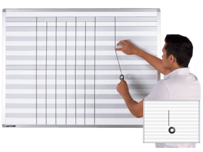 ShadeLine® Row Printed Whiteboards
