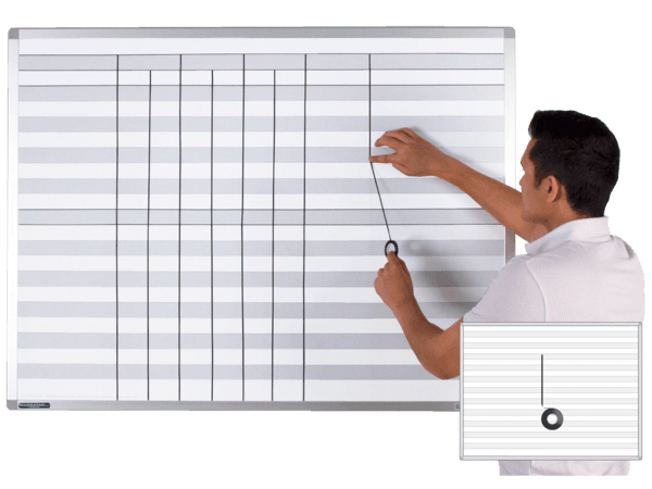 U-Design-It® ShadeLine® Whiteboards