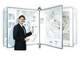 SwingView® Map Center - Wall or Stand