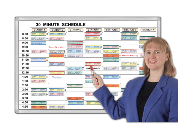Minute-by-Minute™ Time Schedules