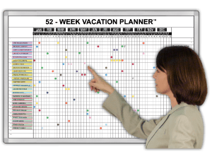 365 day attendance vacation monitor attendance tracker