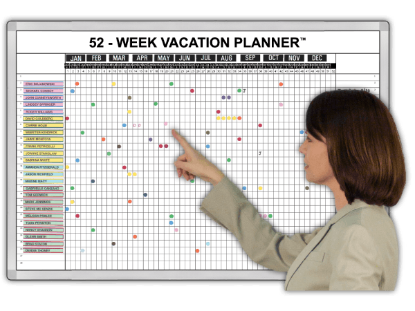 52-Week Vacation-Planner™