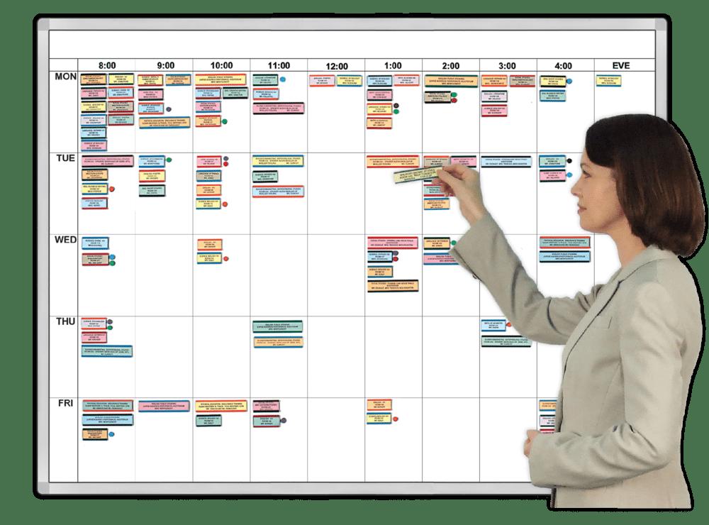 Visible WorkWeek Hourly Calendar Organizers – Hourly Calendar