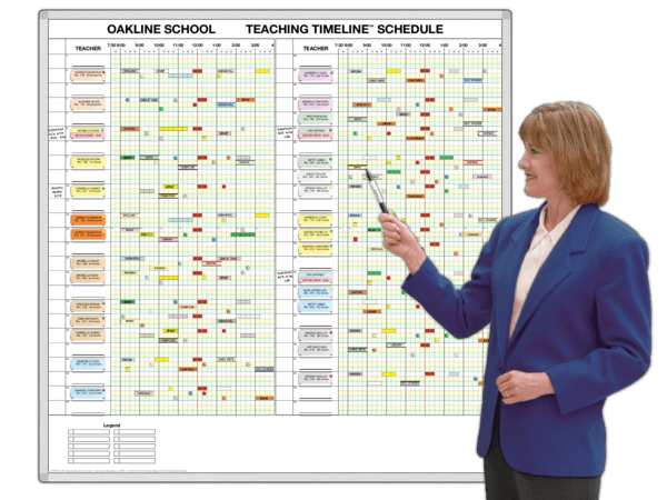 Elem. School Daily Timeline Teaching Schedules