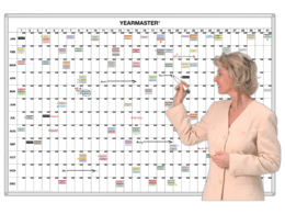 365 Day YearMaster® Timeline Calendar Plan