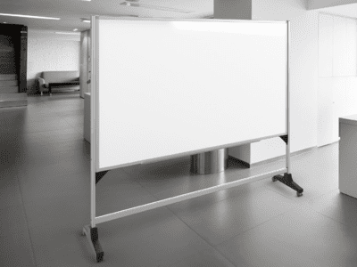 RollAround™ 1 Or 2 Sided Vertical Whiteboard Stands