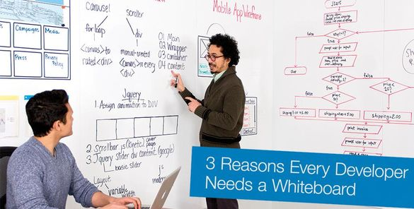 3 Reasons Every Developer Needs a Whiteboard