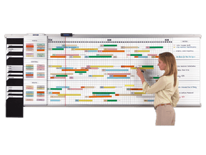 ExpandaPanel® Modular Timeline Track Schedules