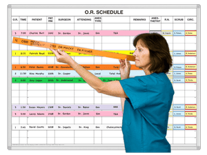 Surgery Schedule