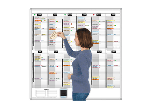 365-Day T-Card Dry Erase Calendars