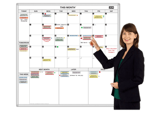Here and Now™ Monthly Dry Erase Calendar.