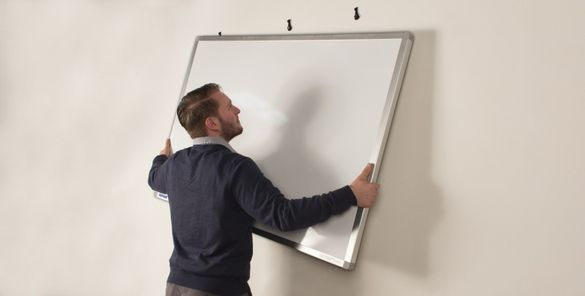 How To Hang A Whiteboard
